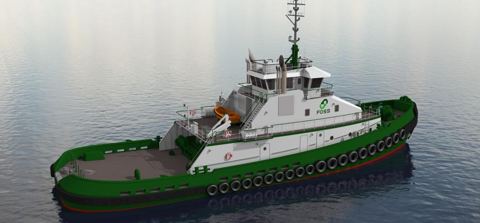 Foss Tug Starboard Rendering
