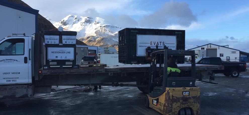 System onsite in Alaska